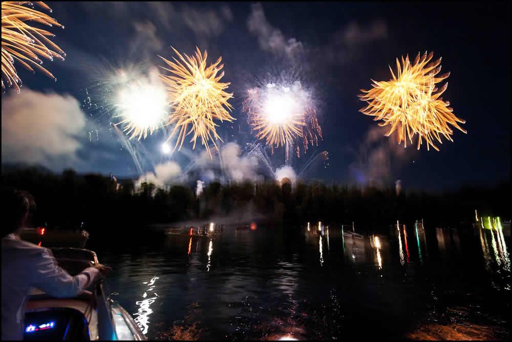 Lake Como Fireworks